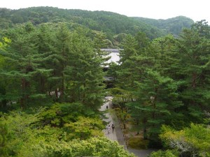 南禅寺三門からの風景