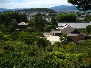 銀閣寺全景
