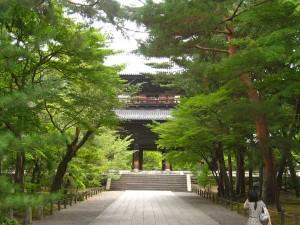 南禅寺入り口