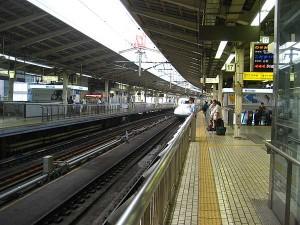 新幹線進入