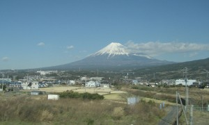富士山ちょっと遠め